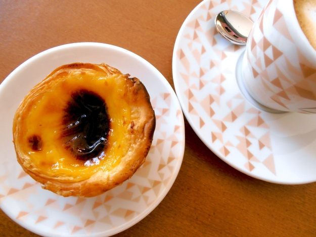 Portuguese custard tart. Absolutely mandatory.