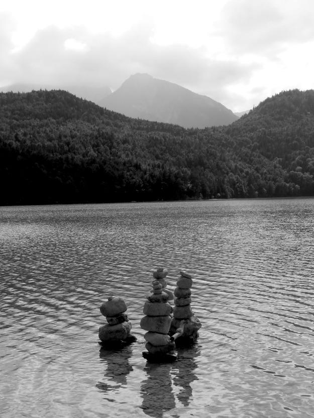 Weißensee Steine