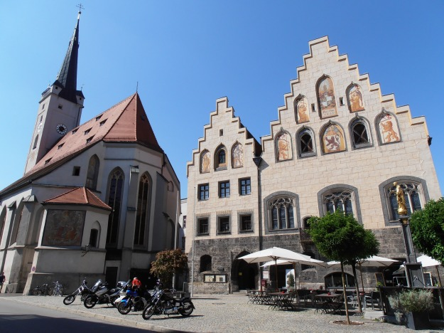 Wasserburg Town Centre