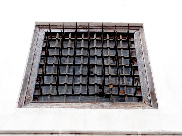 ...and convent windows like these are designed to keep them that way