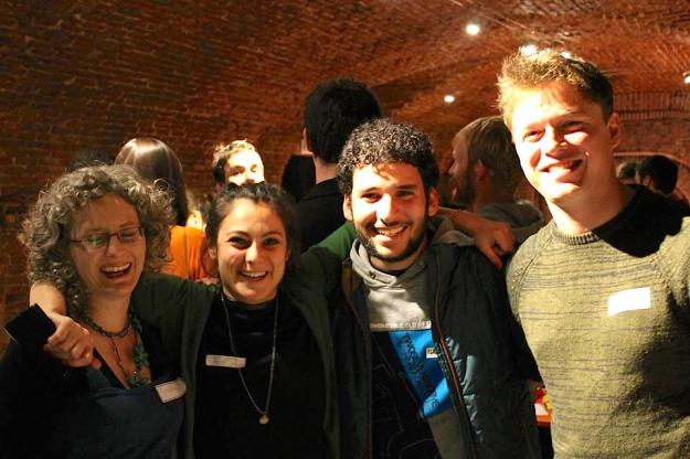 Me, Johanna (one of the organisers), Mr Circus and Alex Rawlings