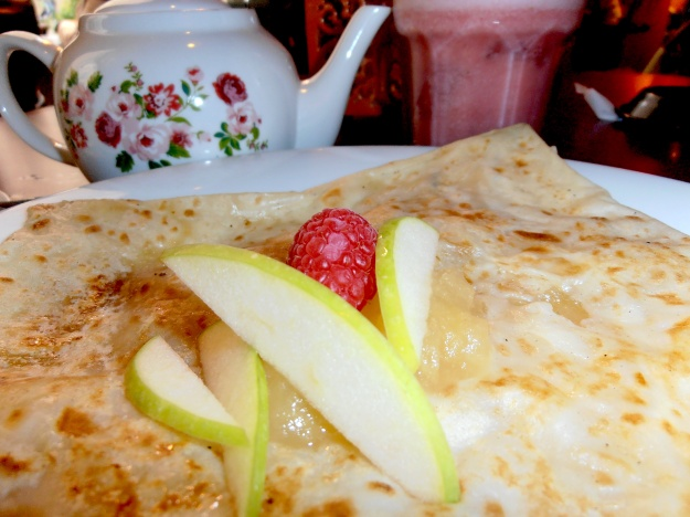 ...but sometimes all you need is a crepe and a nice cup of tea :)
