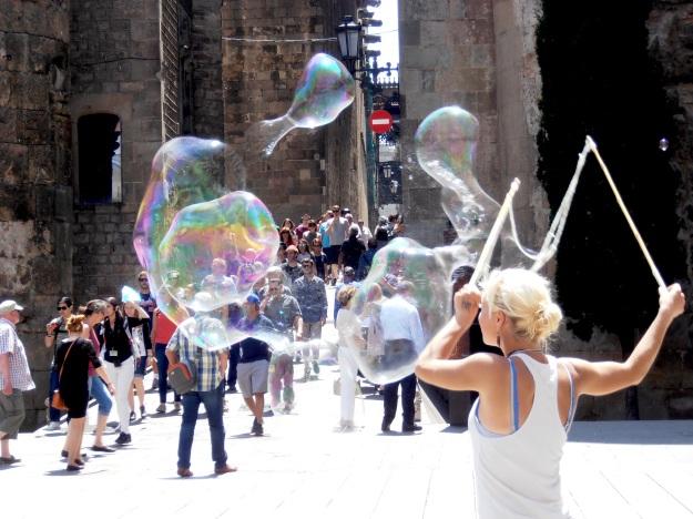 Barcelona Bubbles